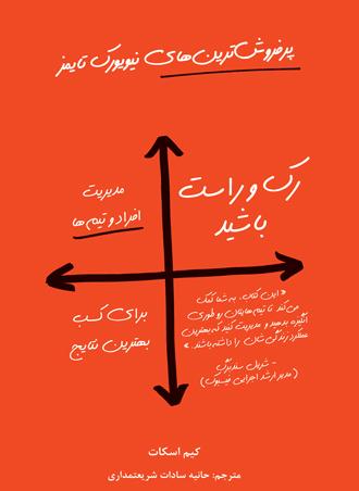 کتاب رک و راست باشید (Radical Candor) نوشته کیم اسکات - مدیریت تیم ها و افراد