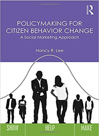کتاب سیاستگذاری برای تغییر رفتار شهروندان (رویکرد بازاریابی اجتماعی)