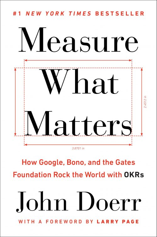 کتاب Measure What Mattersنوشته جان دوئر John Doerr